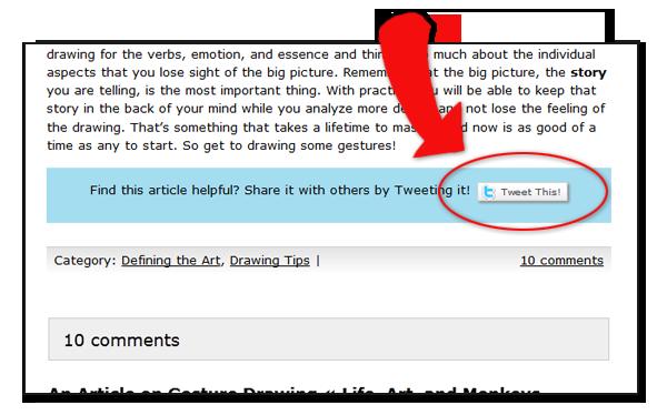 The Animator Island Tweet This button