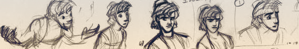 Amazing thumbnails by Glen Keane