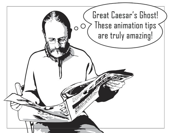 This guy subscribes to the Animator Island Newsletter!