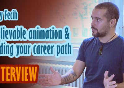 Believable animation & finding your career path – Interview with Samy Fecih – UPDATE: Now also as mp3