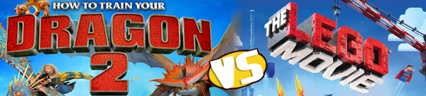 How to Train Your Dragon 2 vs. The Lego Movie