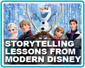 Four Lessons in Storytelling from Disney's Latest Animated Films