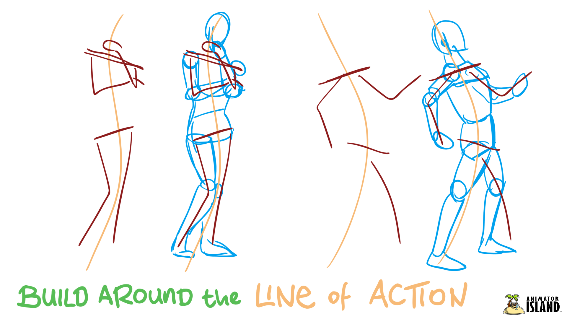 Drawing Lines In Photo : Tips for drawing realistic humans animator island
