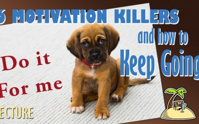 6 Motivation Killers – and how to keep going