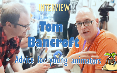 Tom Bancroft's Advice for Young Animators