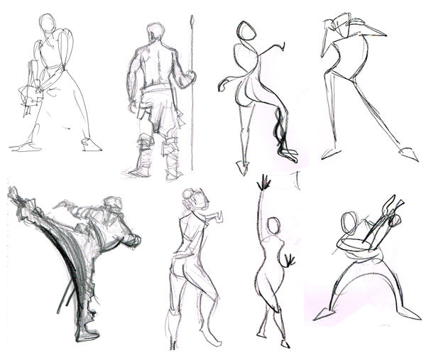 Defining the Art: Gesture Drawing - Animator Island