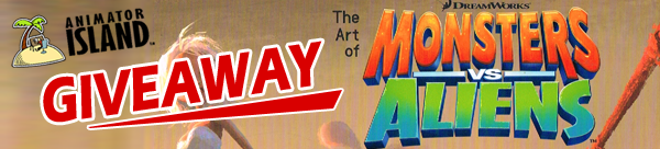 Giveaway: The Art of Monsters vs. Aliens
