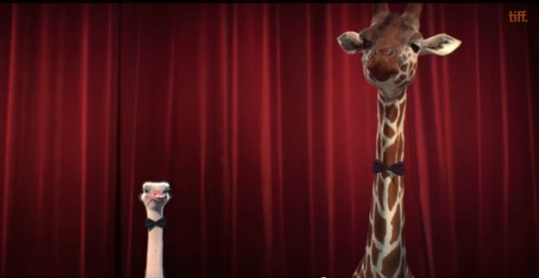 Giraffe and Ostrich of the 2014 Oscar Animated Shorts