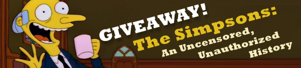 Giveaway: The Simpsons Unauthorized History