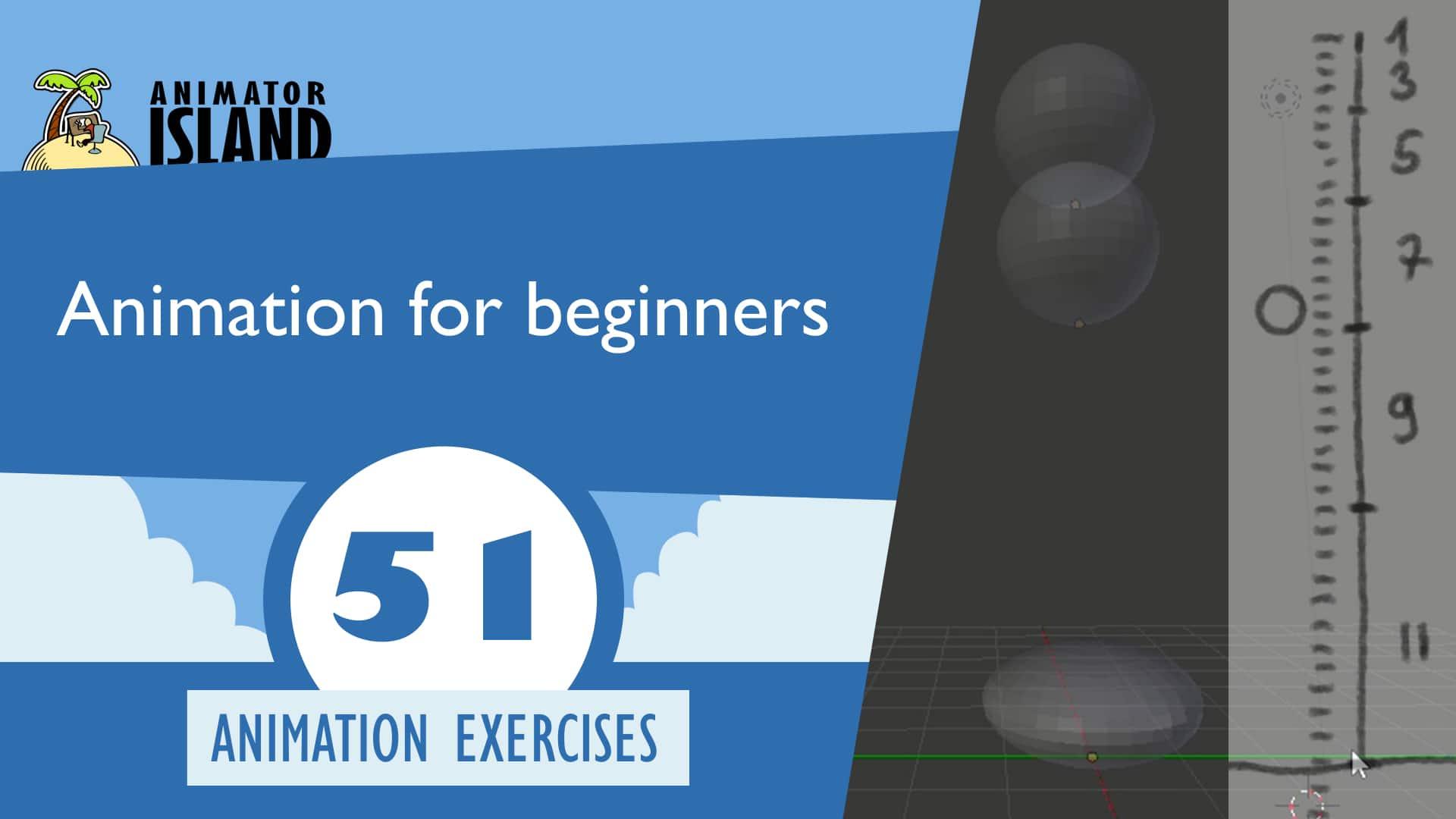 Animation basics for beginners bouncing ball 2d 3d